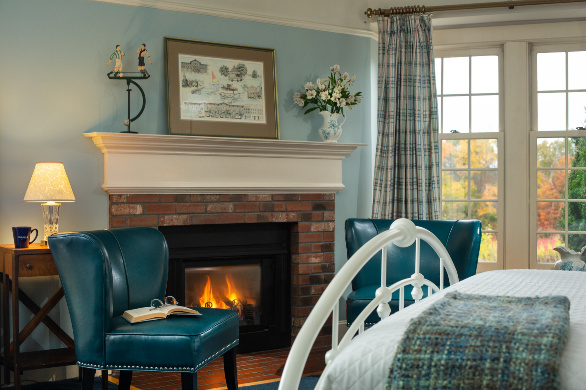 Guest Room at West Chester Inn