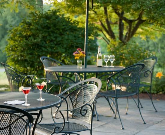 New Hampshire retreat with breakfast on the balcony