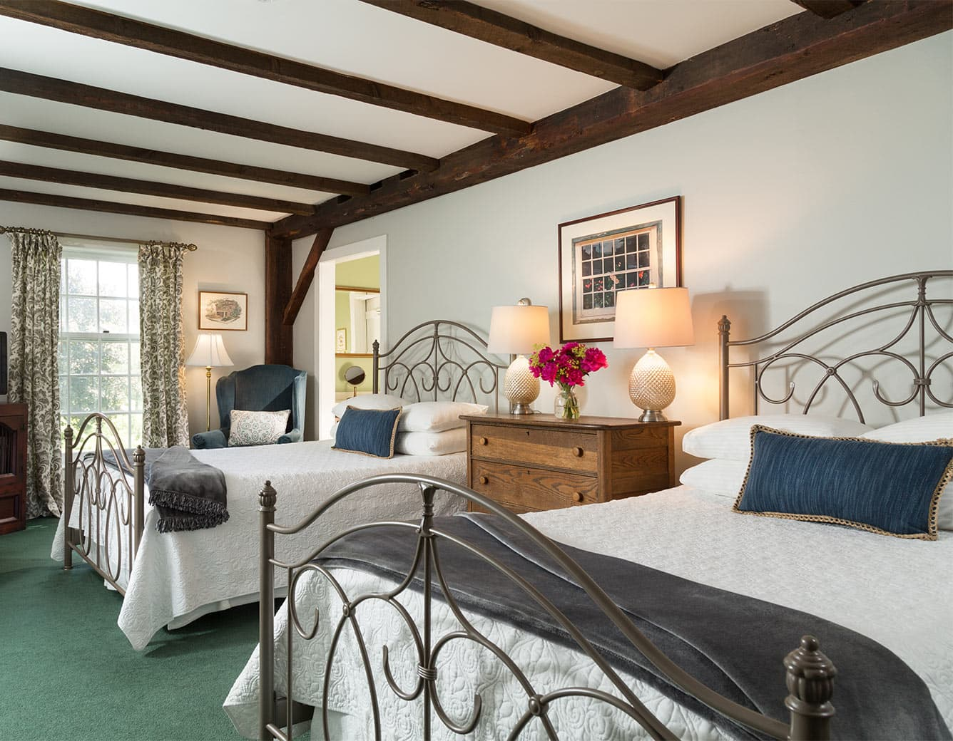 Two Double Beds in Room 11