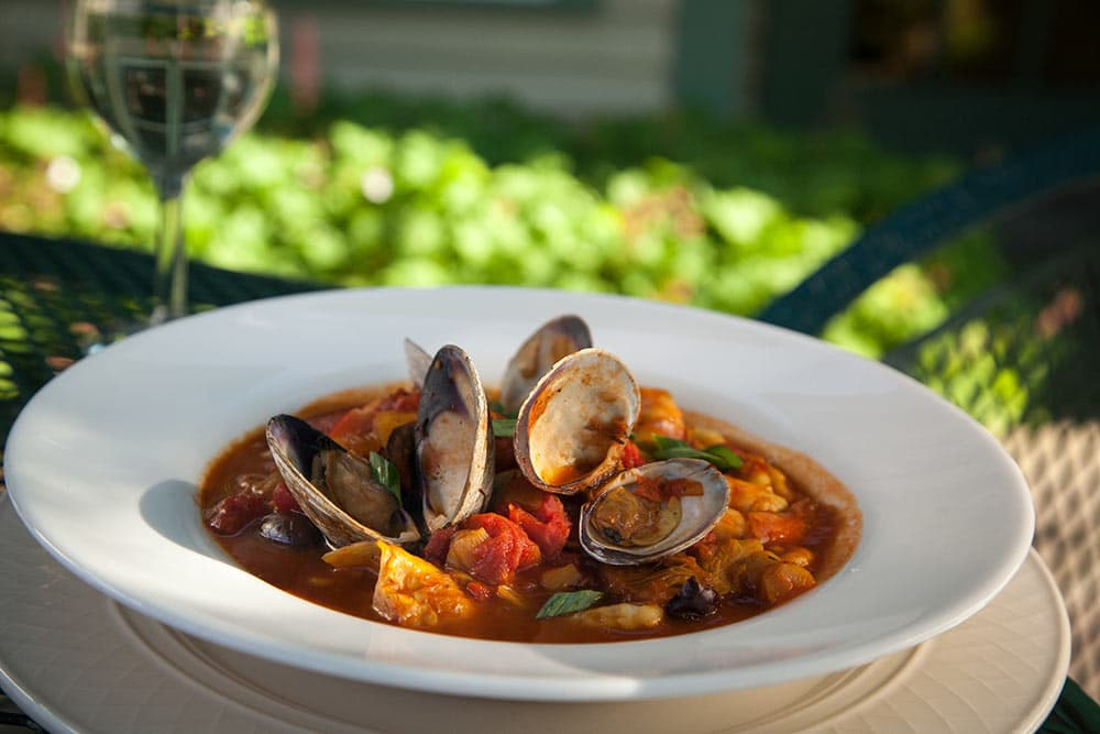 Clams from Chesterfield Inn Restaurant