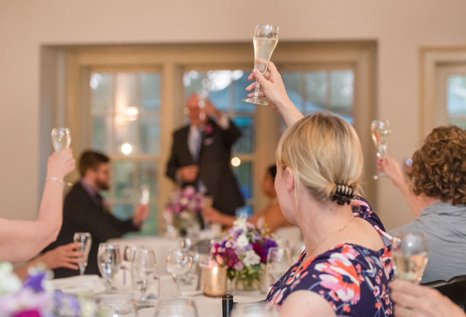Wedding Toast at a New Hampshire Wedding Venue