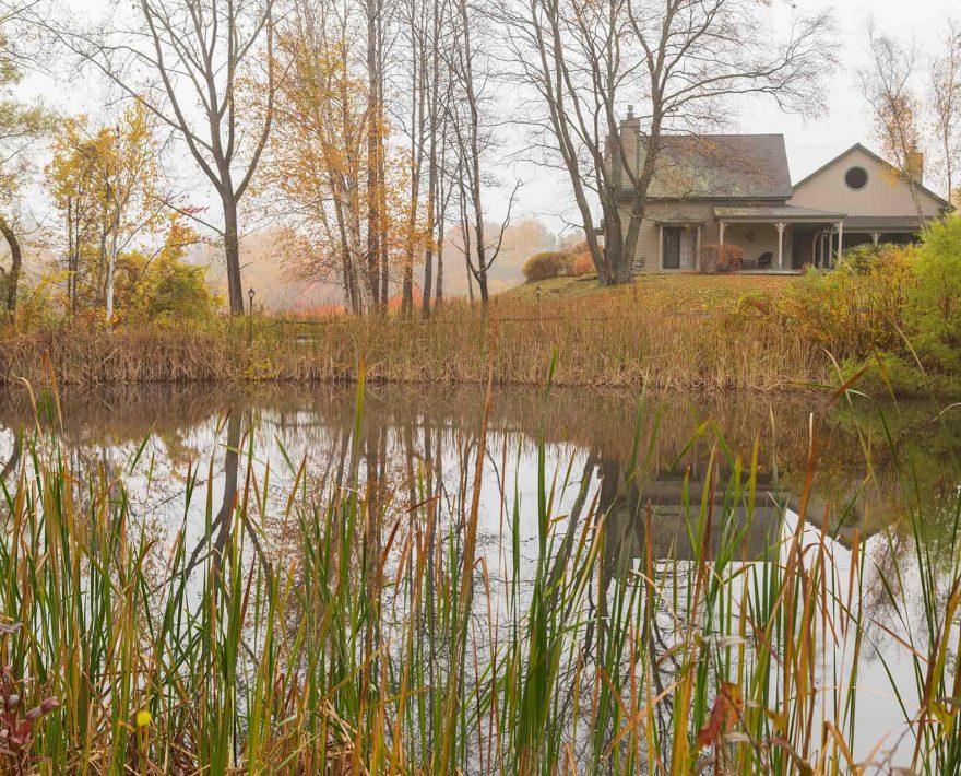 Pond at Chesterfield Inn