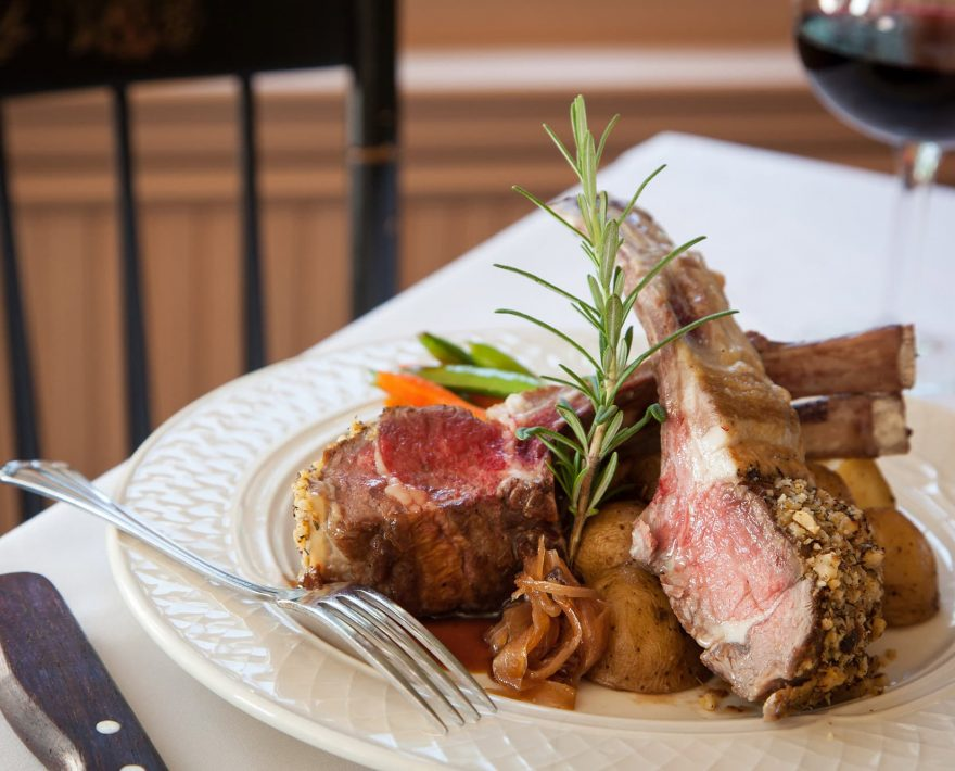 Lamb Chops from the Restaurant