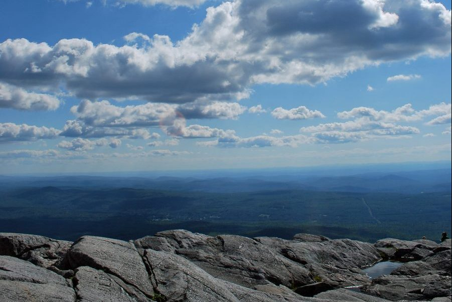view from the summit of mount monadnock