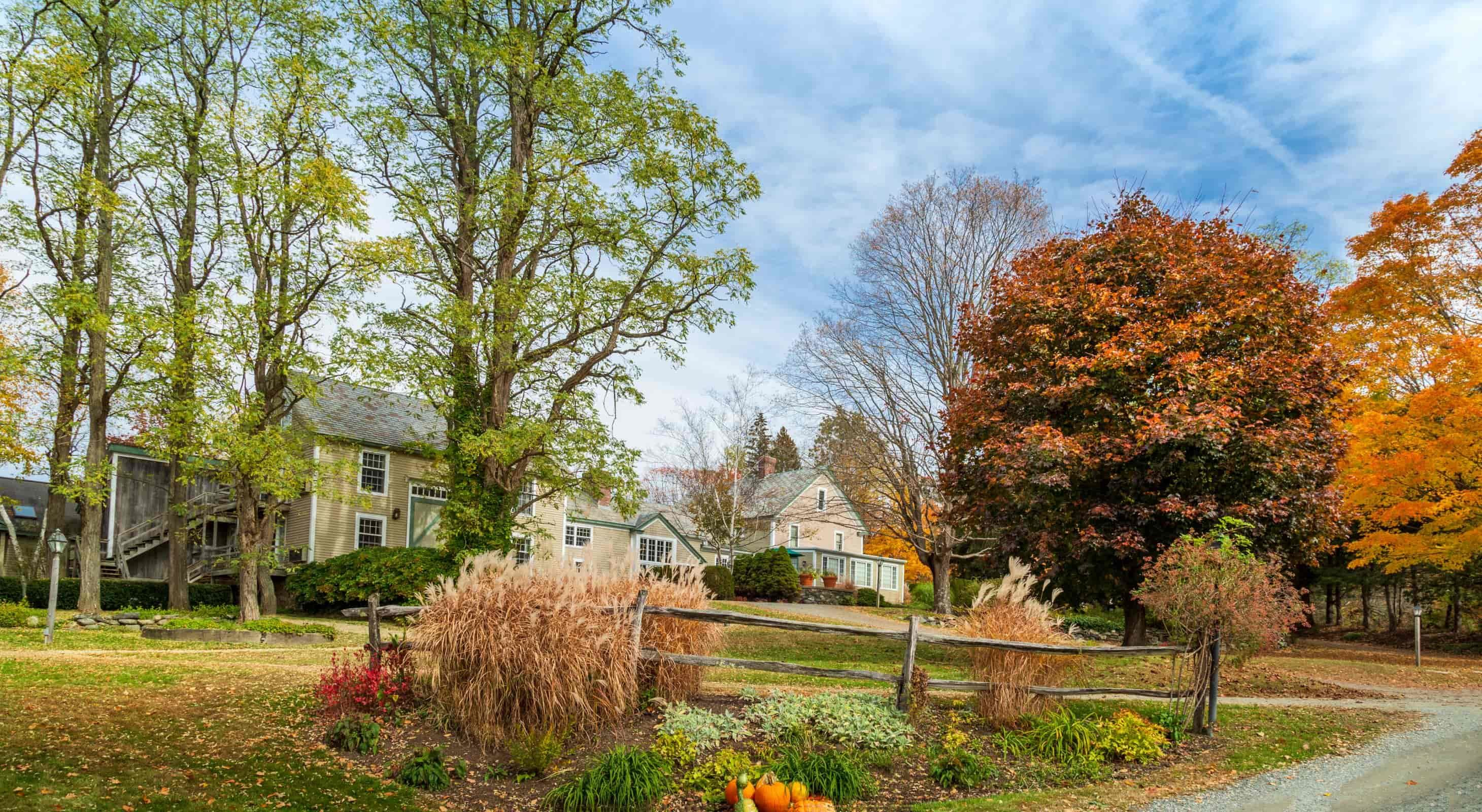 Fall at Our Romantic NH Bed and Breakfast